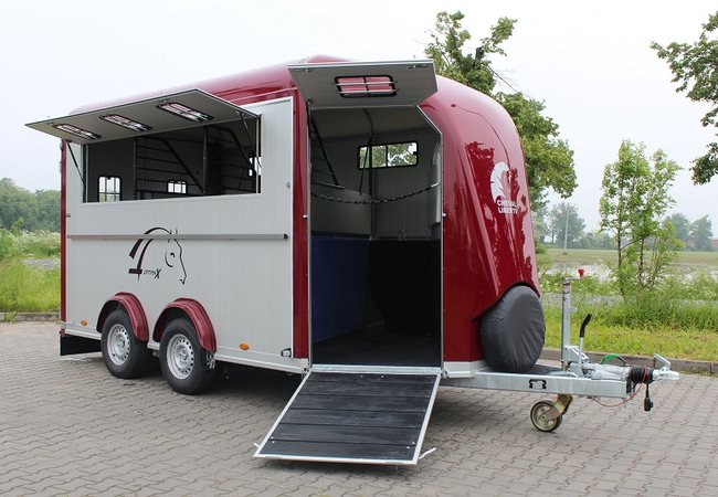 Cheval Liberté OPTIMAX 4 paards trailer!